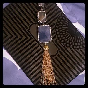 Long Chain with tassel NWOT